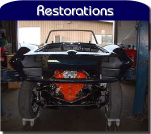 Corvettes of Auburn does restorations.
